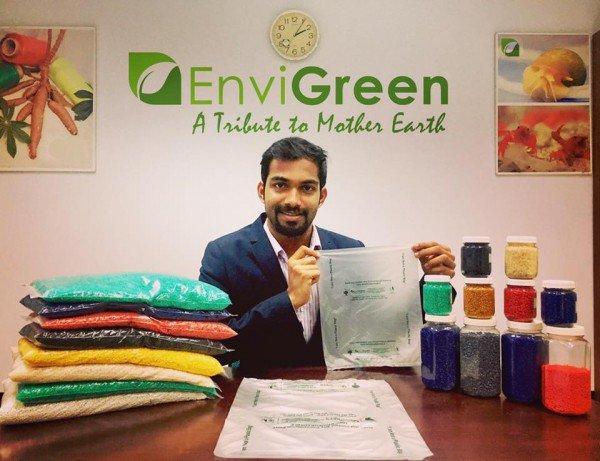 印度塑料袋换了新配方 用完了还能吃?