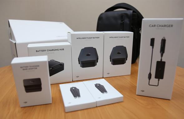 量产机开箱 大疆Mavic pro无人机全能套装用户晒单
