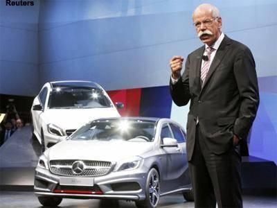 蔡澈:戴姆勒2016将成为全球最大豪车制造商