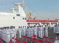 中国又交付巴基斯坦两艘巡逻船