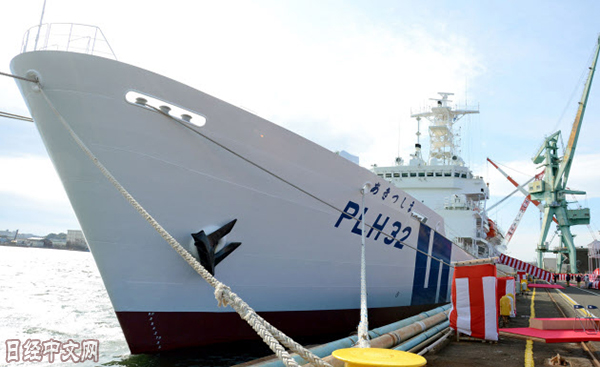 日本海上保安厅预算创新高 造大型舰船加强钓鱼岛警备_国际<a href=http://www.tzgcjie.com/news/ target=_blank class=infotextkey>新闻</a>_环球网