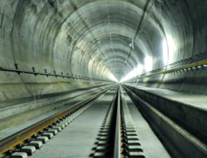 世界最长铁路隧道投入运营