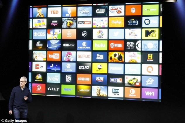 苹果发布最新电视APP 海量资源应有尽有