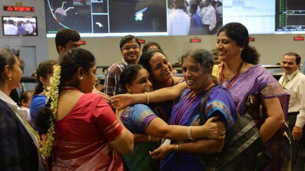 英媒探访印度太空事业背后女科学家团体