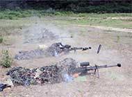 海军特种兵射国产大狙弹壳很大
