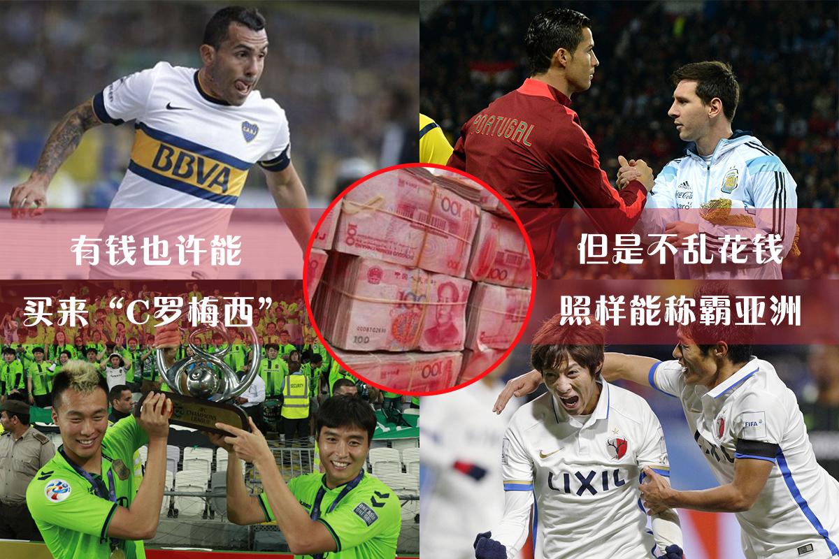 中国金元足球遭日韩狠打脸 球不是这么踢的