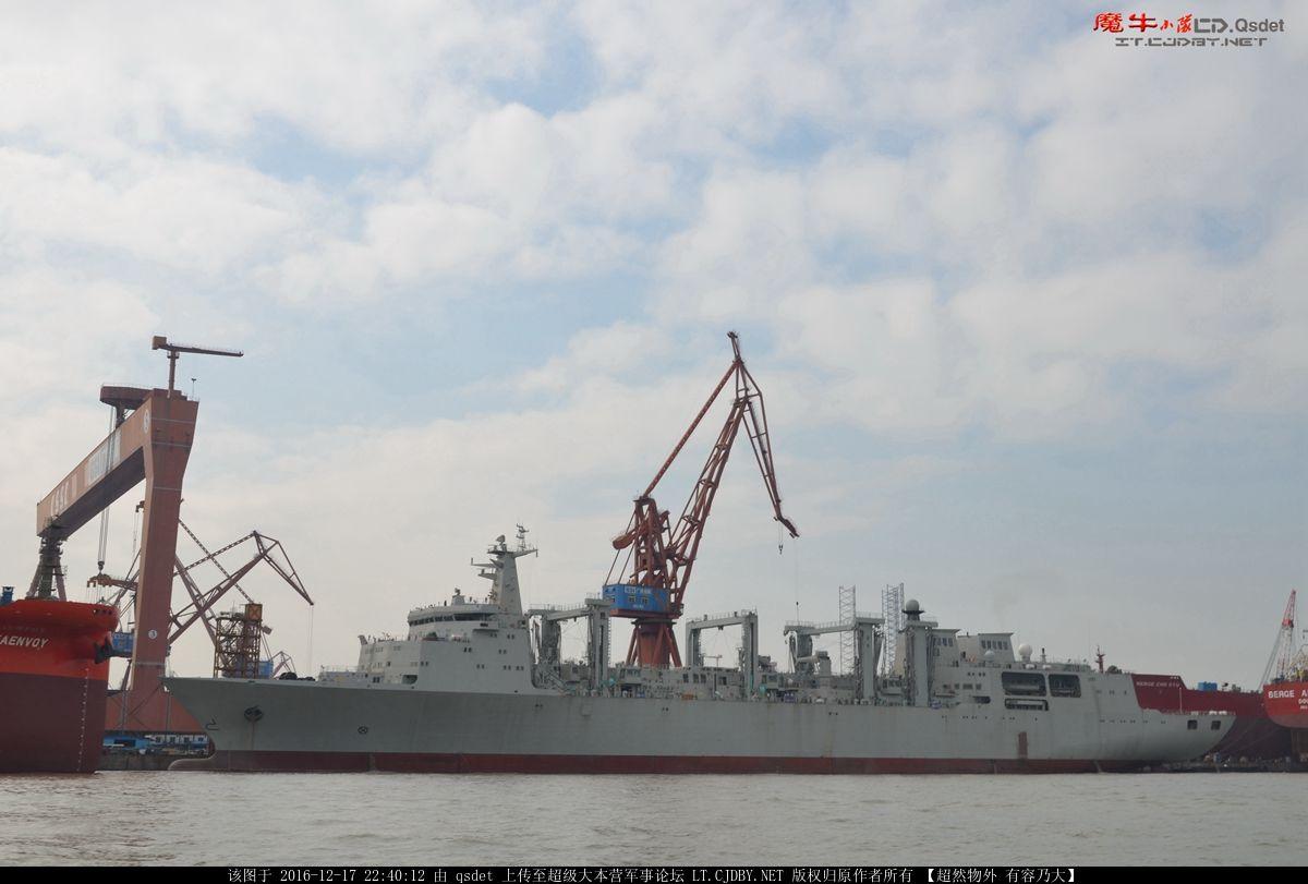 中国航母超级奶妈首舰试航 补全战斗群最后短板 - 春华秋实 - 春华秋实 开心快乐每一天