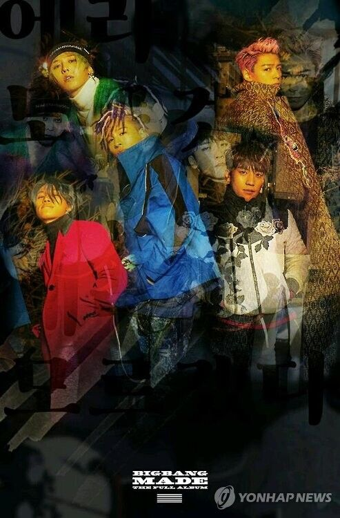 BIGBANG谈新专辑 讲述成长历程