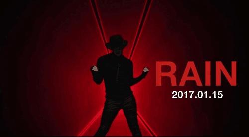 Rain公司发预告海报 1月将出新专辑