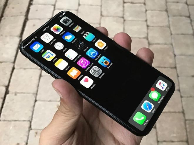 韩媒:苹果iPhone 8将采用三星OLED曲面屏
