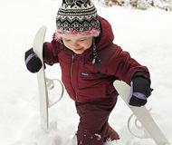 小学生滑雪三次即可基本掌握初学技巧