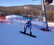 第三届全国大学生滑雪挑战赛东北赛区落幕