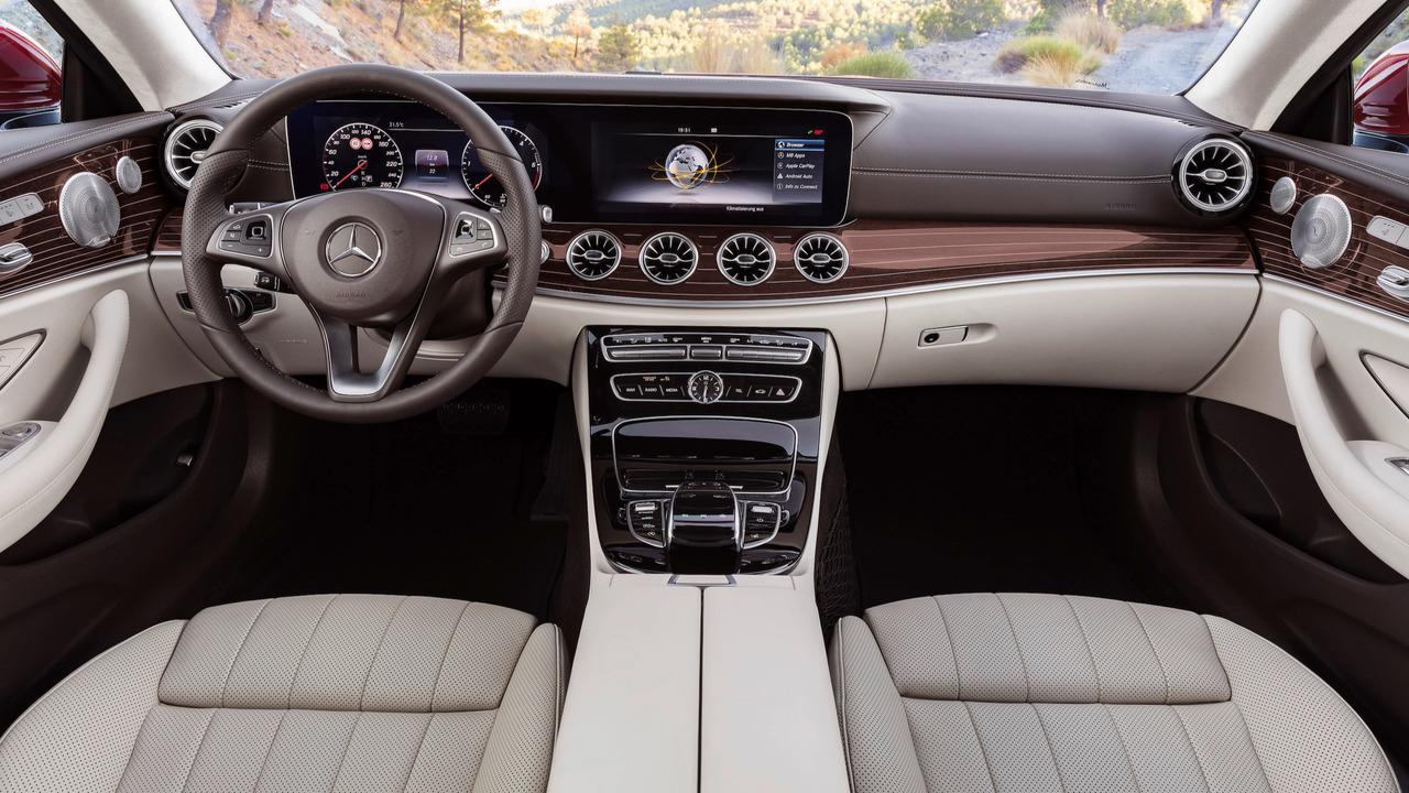 2018款奔驰E级Coupe可预订 售价30万起