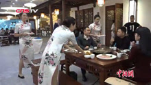 服务员都是旗袍美女的火锅店
