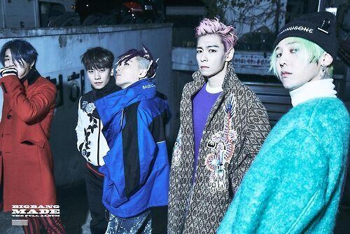 BIGBANG新专辑荣登公告牌6个榜单榜首