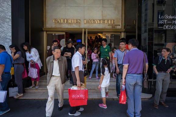中国成为纽约市第二大境外旅游客源国