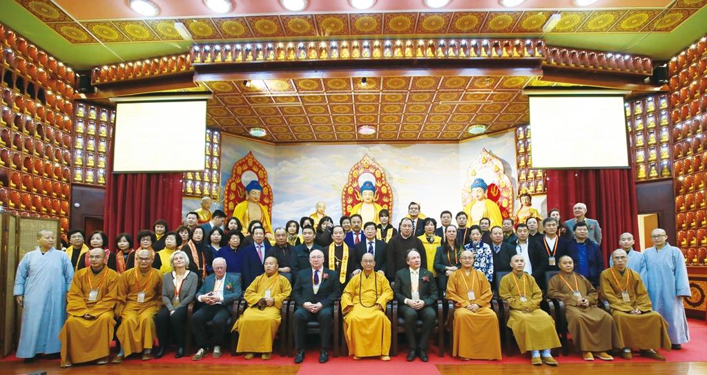 欧洲首家汉传佛教寺庙隆重举办周年庆典