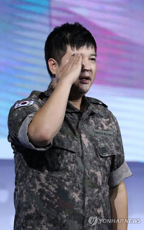 SJ神童今退伍 先录节目后回家