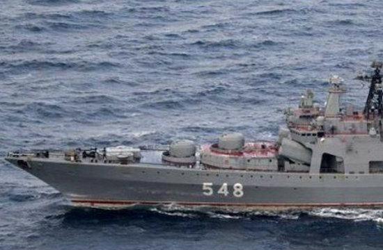 俄六艘舰艇过北方四岛遭日监视