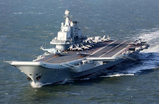 辽宁舰编队首赴西太平洋训练
