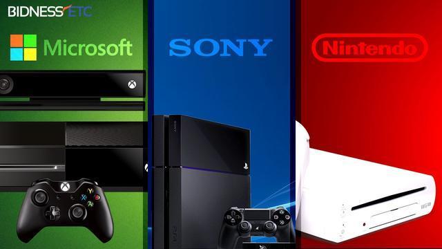 2017年索尼、微软和任天堂的游戏之路