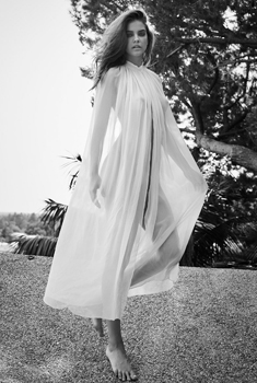 匈牙利超模芭芭拉·帕尔文大片