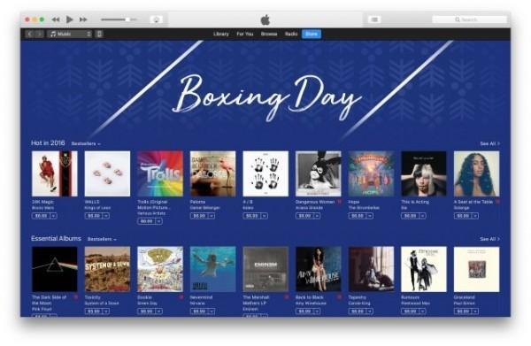庆圣诞 这些地区的iTunes商店提供专辑折扣