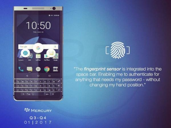 黑莓最后一款自主手机亮相:物理键盘双曲面