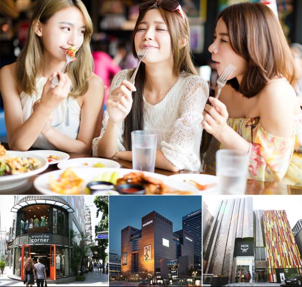 江南购物必去 首尔名品购物中心 韩国首尔江南富人区