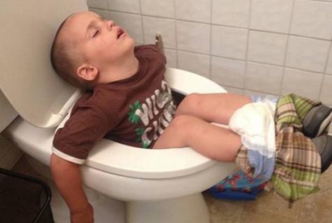 有一种任性叫本宝宝说睡就睡