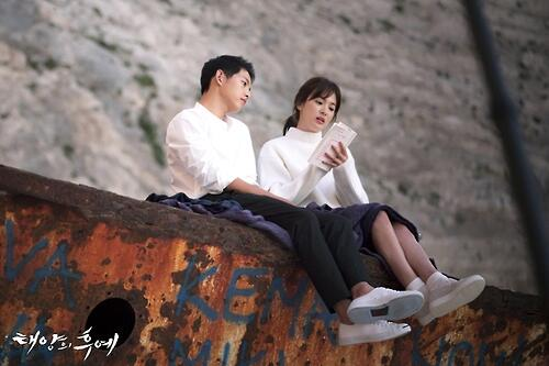 《太阳的后裔》获选2016韩国观众最投入电视剧