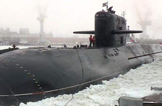 俄军核潜艇改装十余年终于服役