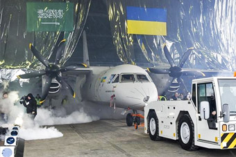 乌克兰造出安132新型运输机