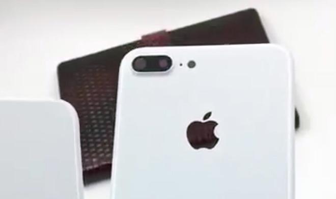 真假难辨!网络视频曝白色版iPhone 7和7 Plus
