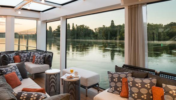 真的,这是欧洲内河上最有中国味道的游轮