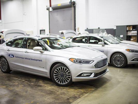 福特拟将无人驾驶测试车队扩大至目前3倍
