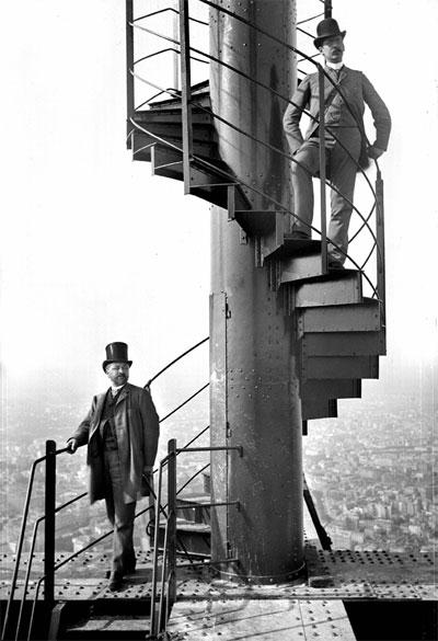 击退全球买家,天价拍下埃菲尔铁塔楼梯
