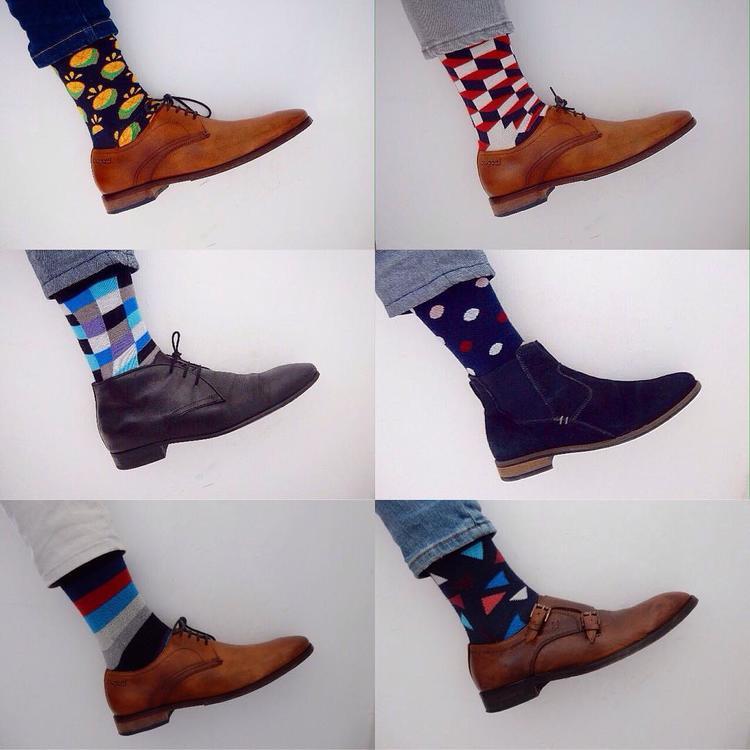 在买花袜子这件事上,男性会比女性更痴迷吗?