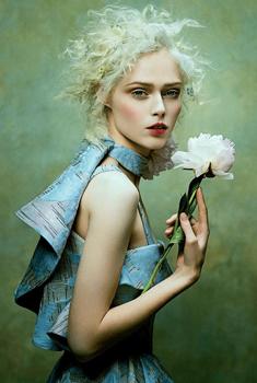 加拿大模特可可·罗恰杂志大片