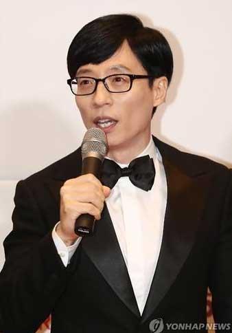 韩国民MC刘在石获2016MBC电视台演艺大奖