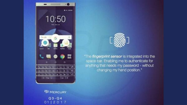 黑莓最后一款自主手机完全曝光:情怀爆发!