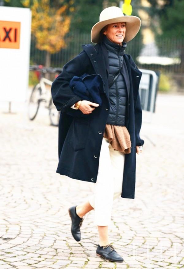 穿了这么久的大衣和羽绒服,却没想到羽绒服也能穿在大衣里!