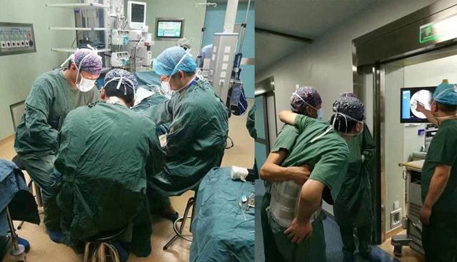 浙江一医生腰椎犯病 坐轮椅绑护具做8台手术