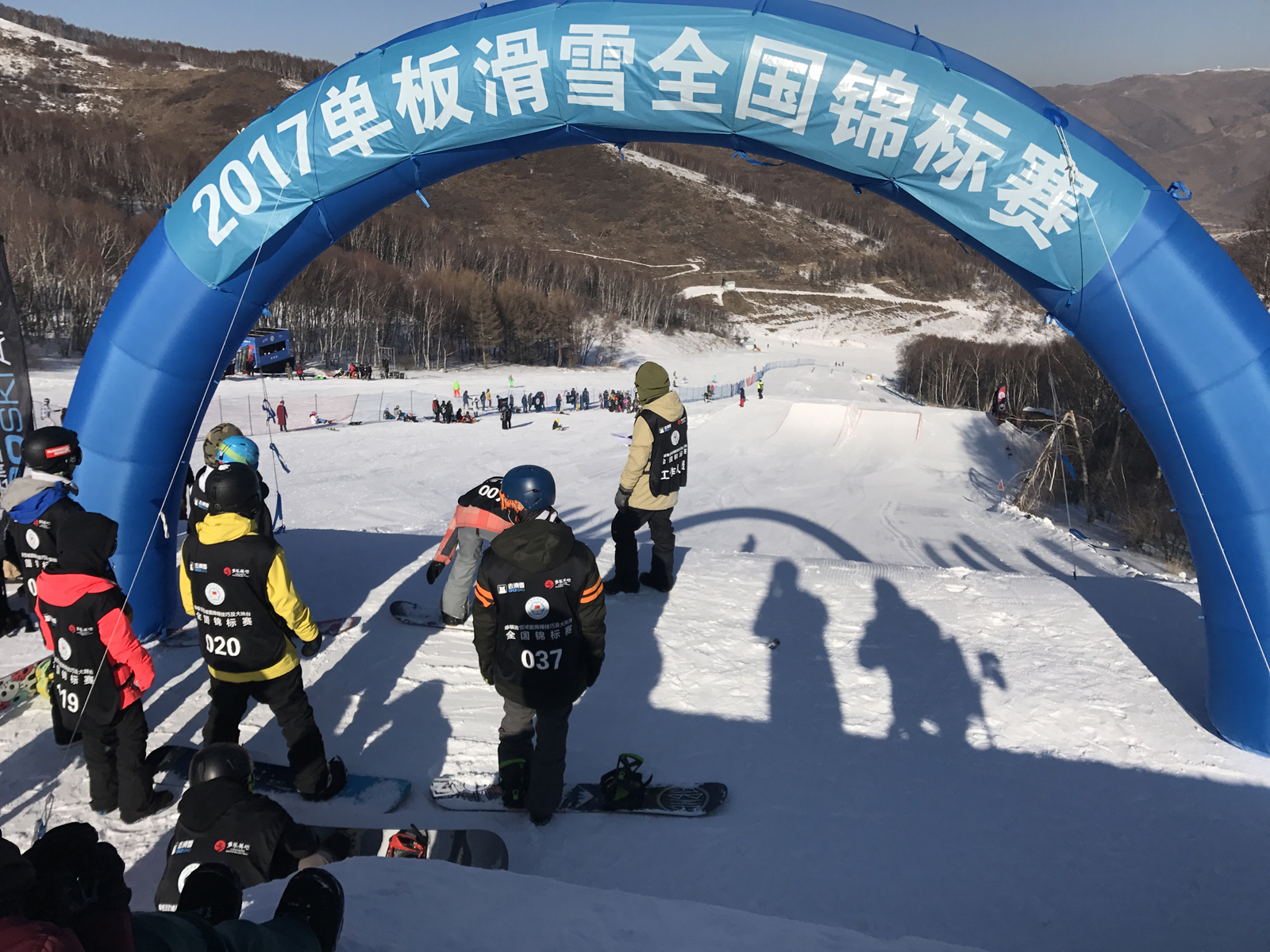 单板滑雪全国锦标赛大跳台决赛精彩记录