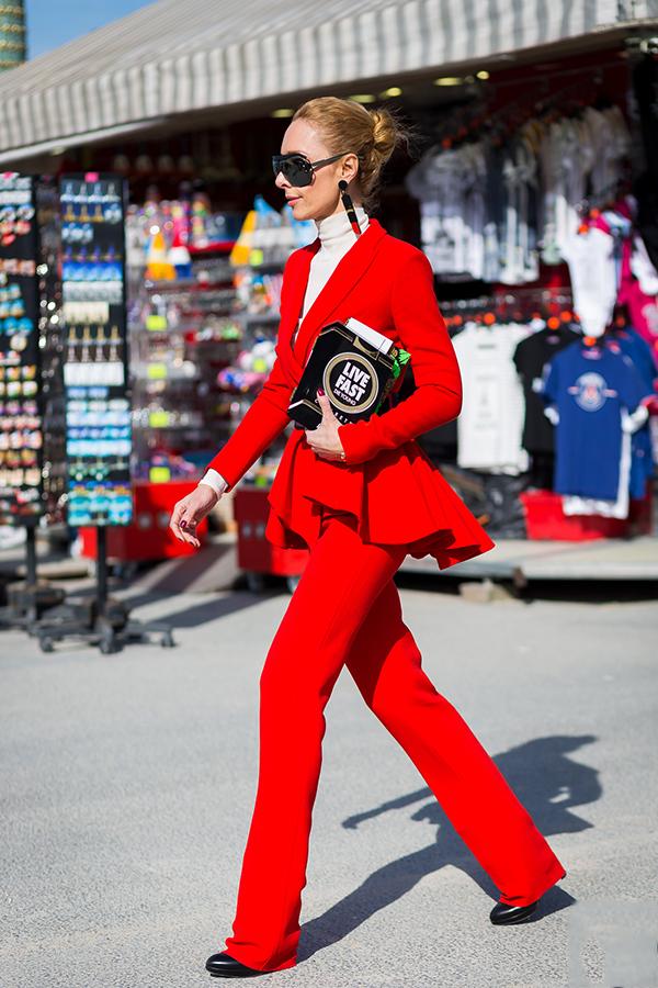 新年红 怎么穿才不俗套?