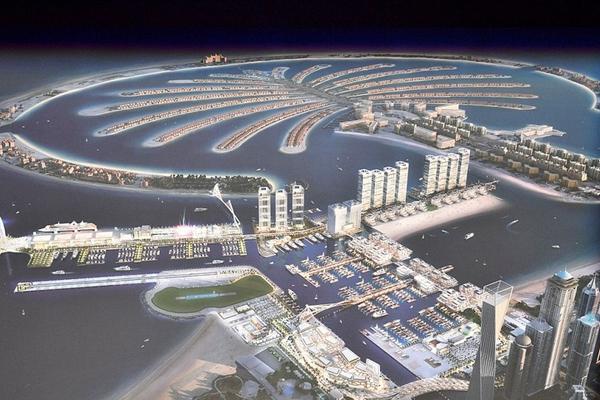 迪拜将打造中东和北非地区最大游艇码头