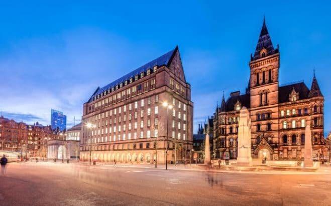 英媒:中国人对英国曼彻斯特地产投资热情上涨