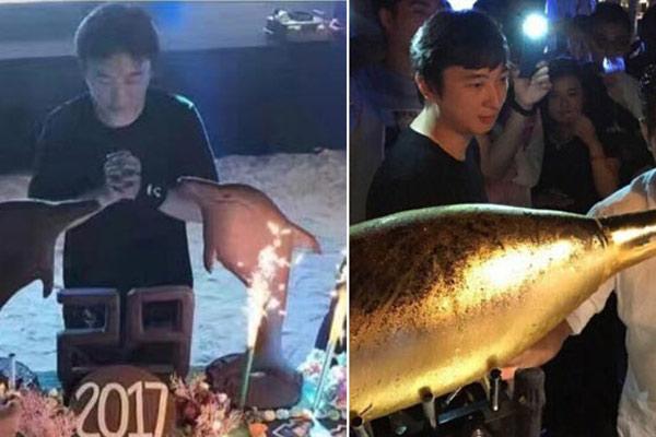 29岁王思聪包岛庆生场面奢华气派