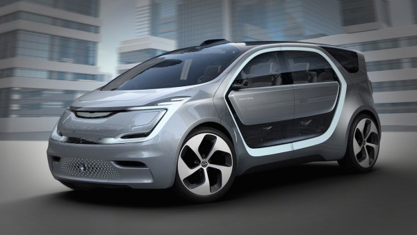 克莱斯勒Portal概念车发布 采用面部识别