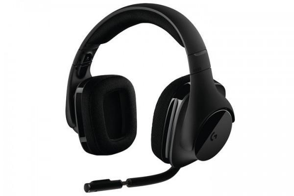 罗技新款无线游戏耳机G533 15小时续航